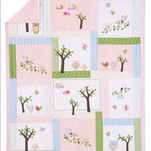 NWT Pottery Barn Kids Haley Twin Quilt